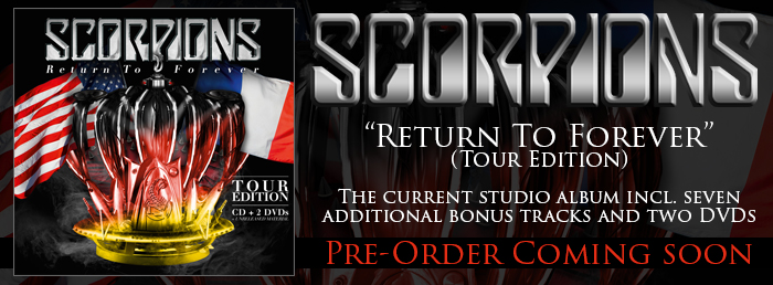 Scorpions - Return To Forever (Tour Edition) (CD+2DVD)