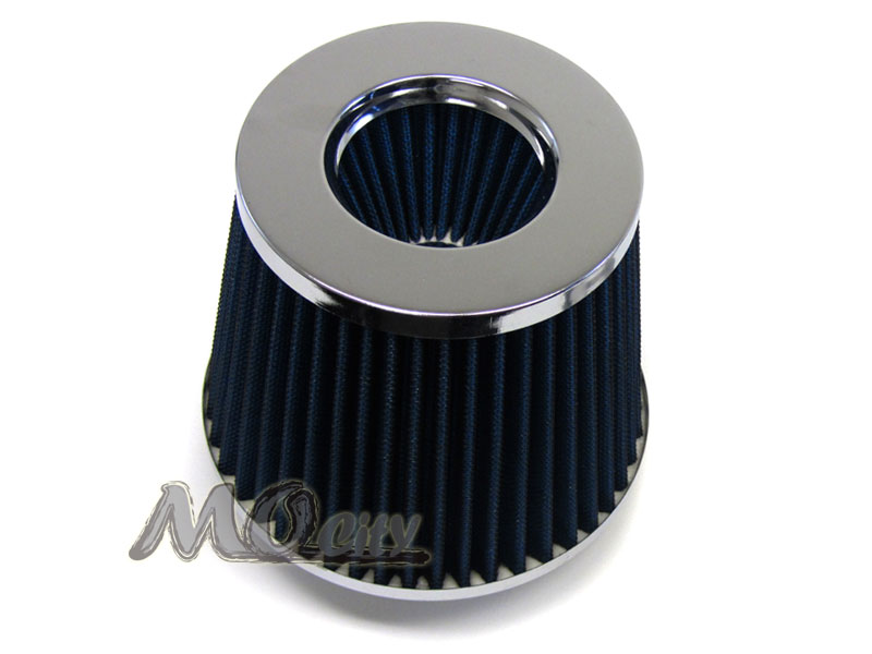 Polish Pipe Blue Dry Cone Filter Shortram Air Intake Kit For 07-13 IS250 IS350