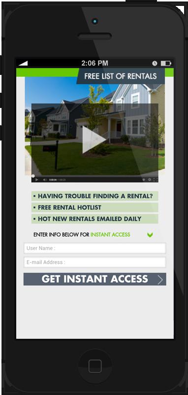 Free List of Rental Homes