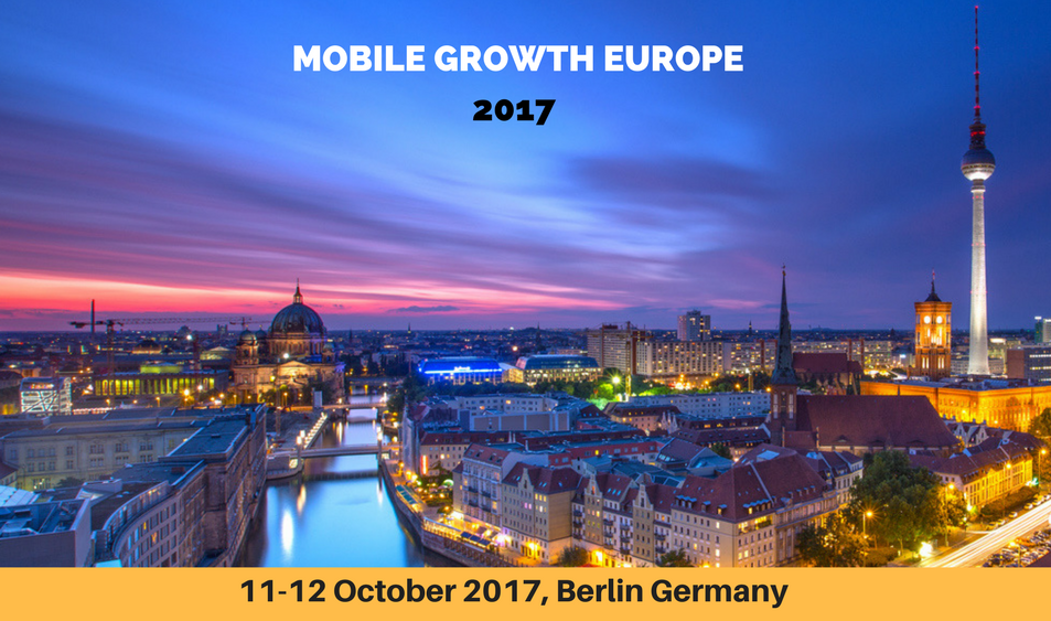 Mobile Growth Europe 2017 conference