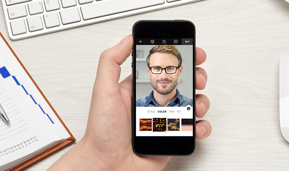 Custom-made Glasses Using Augmented Reality