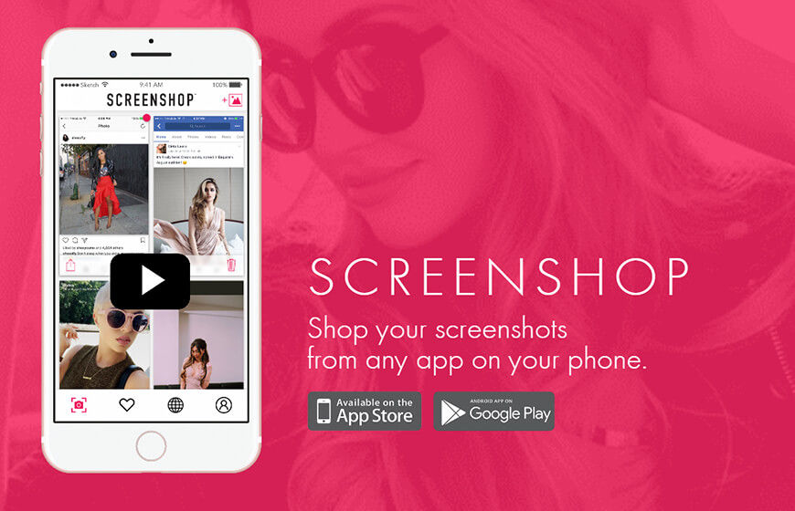 Screenshop Mobile App