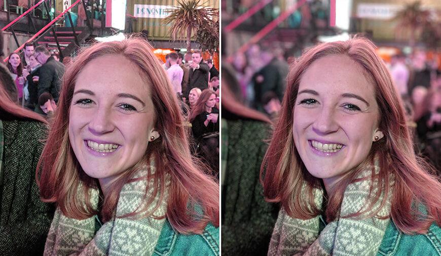 Portrait mode in other smartphones