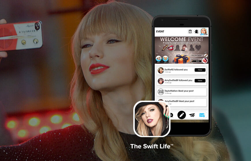 Taylor Swift Launches Mobile App