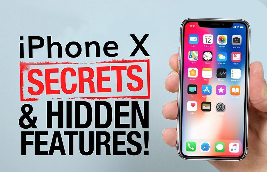 iPhone X Secret Features
