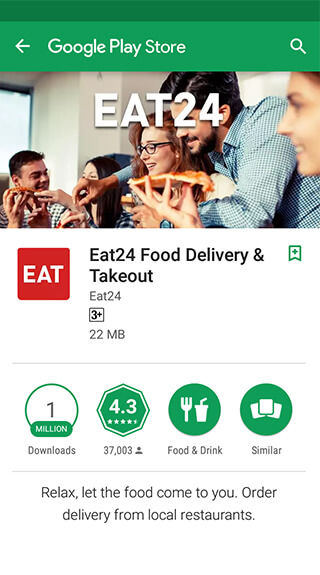 Eat tasty food without leaving your home with Eat24