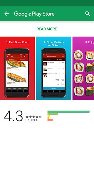Get your favorite food within no time