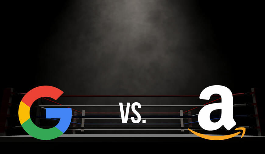 Google and Amazon