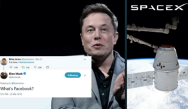 Elon Musk Deleted His Companies' Facebook Pages
