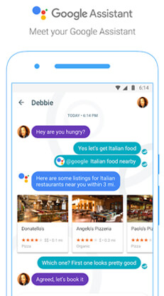 Use the Google Assistant to know anything you want
