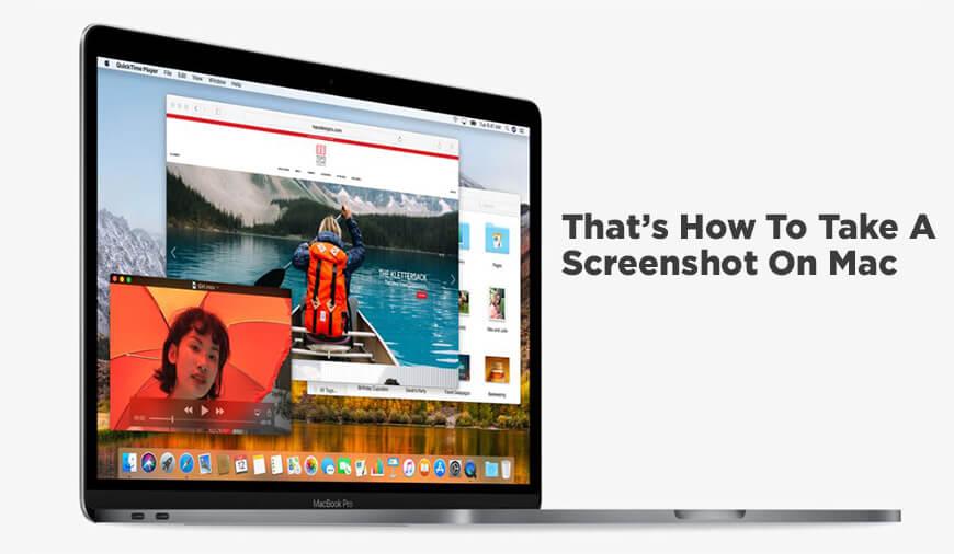 How To Take A Screenshot On The Mac