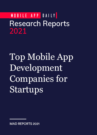 Top 20 Mobile App Development Companies <br>for Startups in 2021