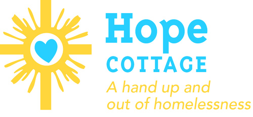 Hope cottage with tagline