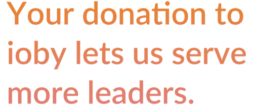 Your donation heading