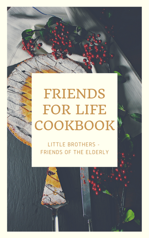 Friends for life cookbook