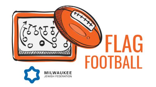 Flag football with logo2