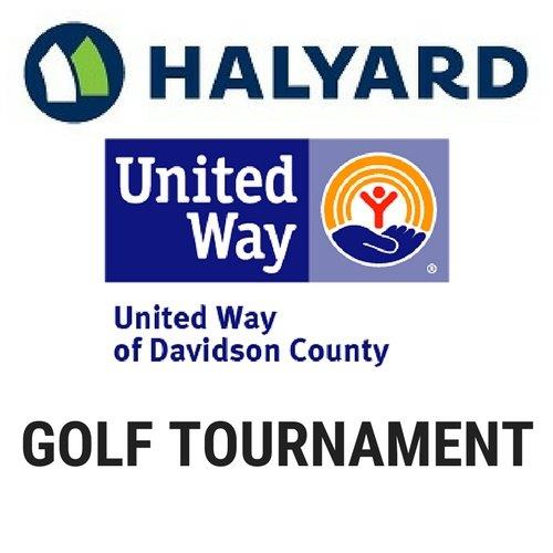 Halyard health united way golf logo