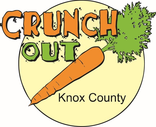 Crunch out knox county logo