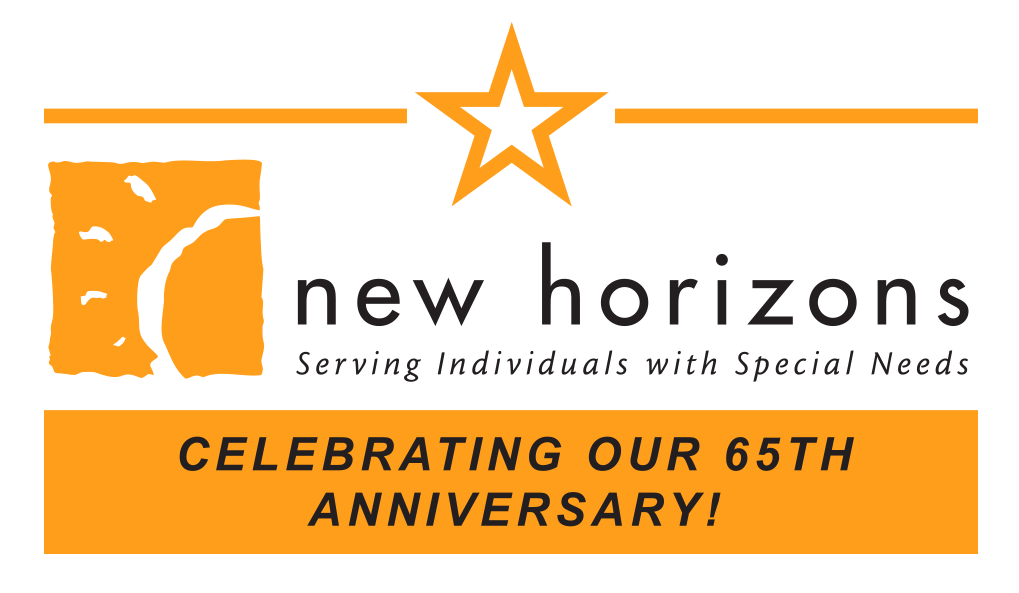 New horizons 65th anniversary logo