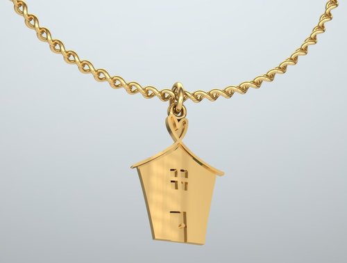 14kt gold charm