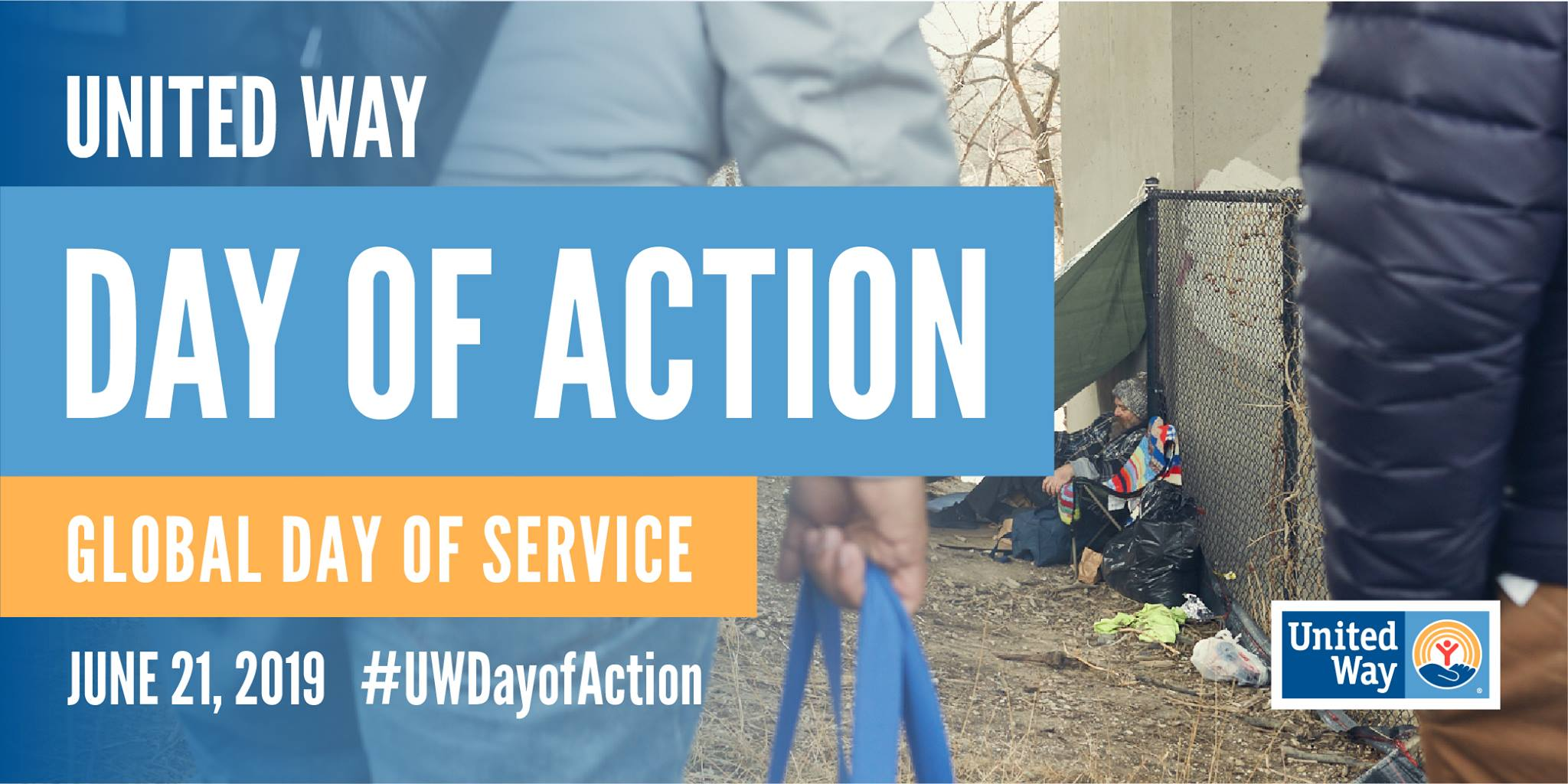 Day of action banner