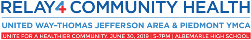 Relay4community health logo 2019
