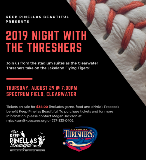 Night with the threshers flyer