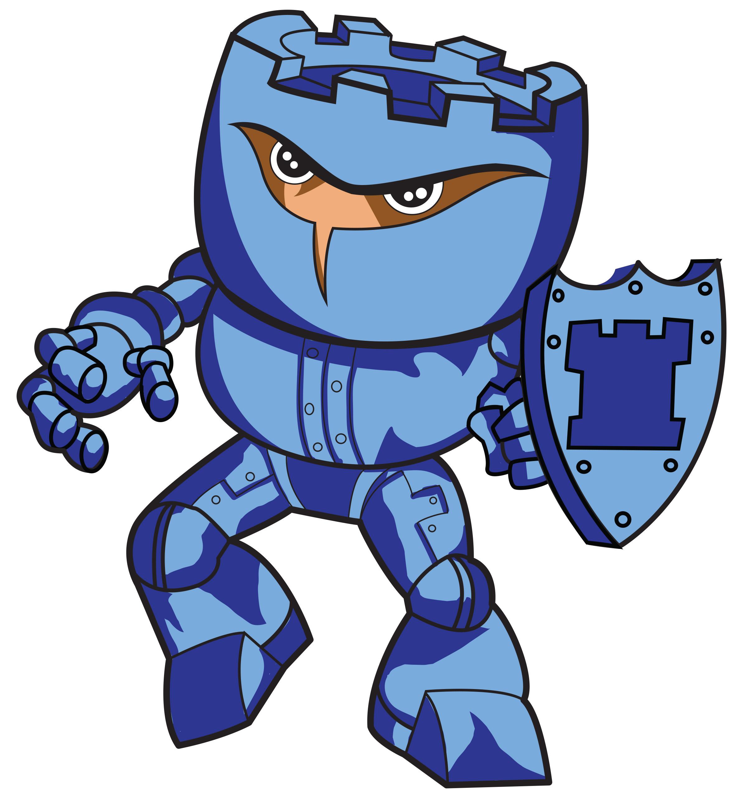 Castleman mascot