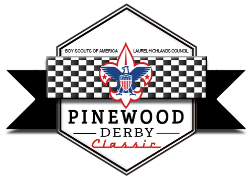 2019 final pinewood derby logo