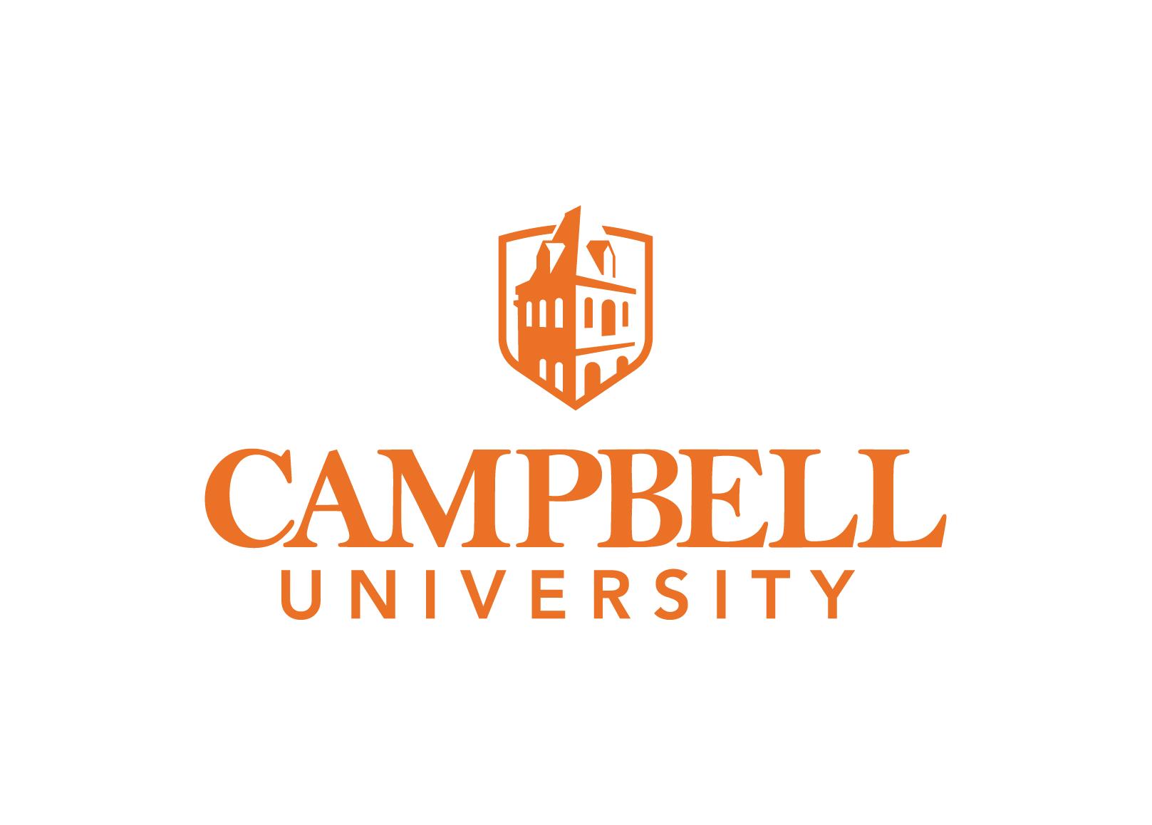 Campbell university logo center align   screen   2017