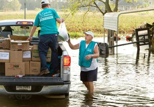 Catholic charities hurricane harvey