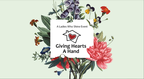 Giving hearts a hand event logo