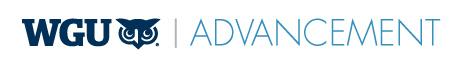 Advancement logo long