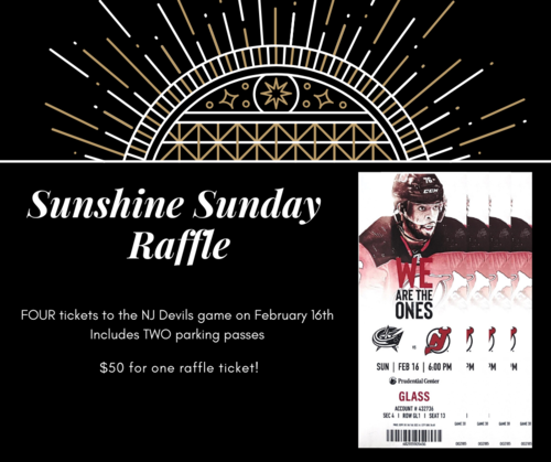 Sunshine devils ticket raffle