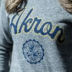 Blue gold crewneck sweatshirt