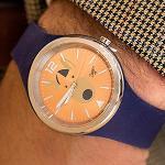 Zippy silicone watch