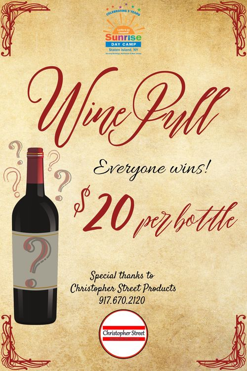 Sunshine wine pull 1