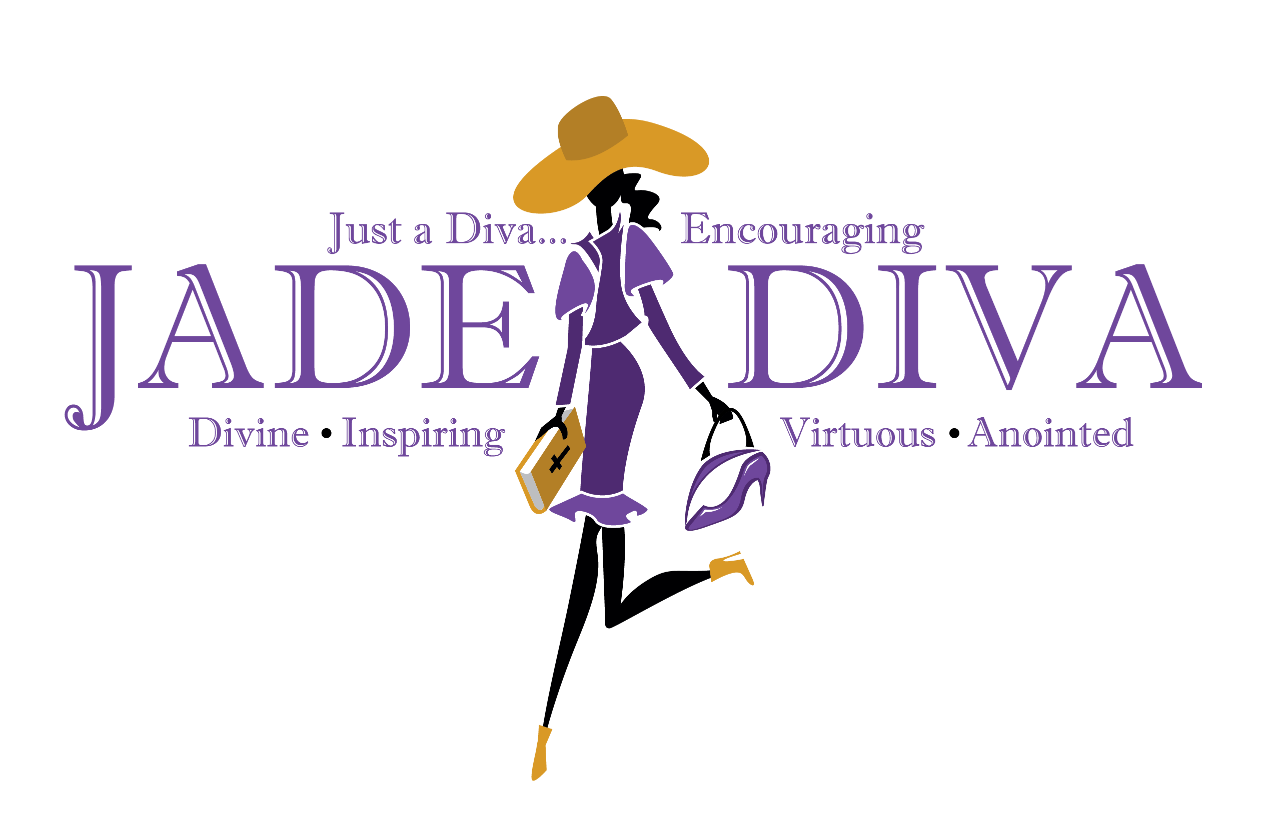 Official jade mins transparent logo