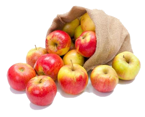 Bag of apples