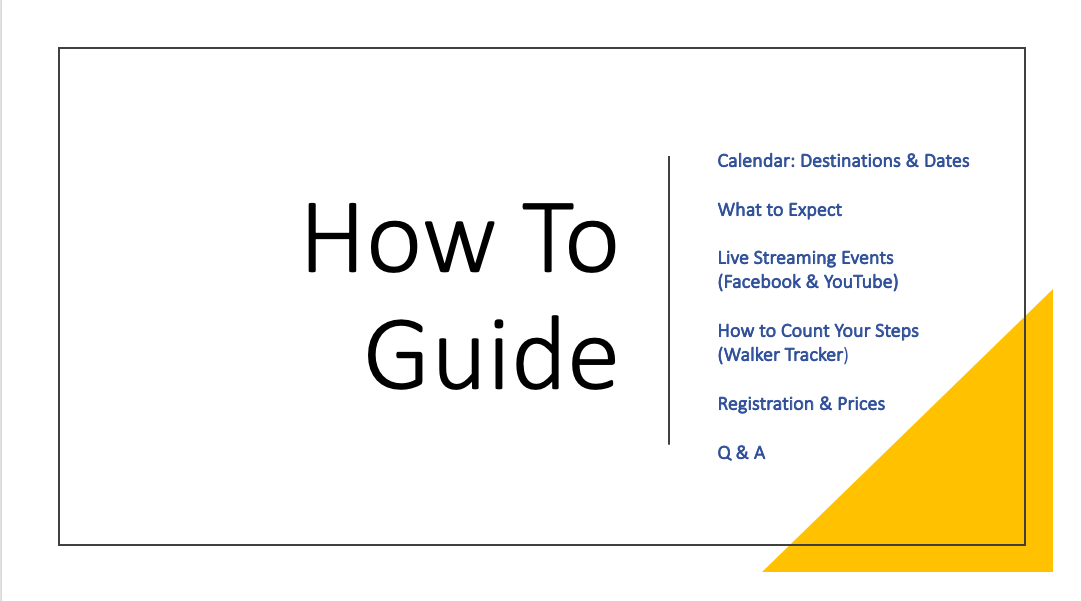 How to Guide