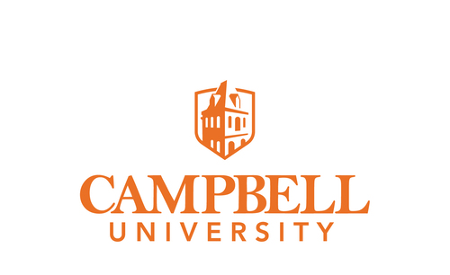 Campbell university logo center align   screen   2017
