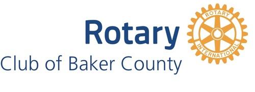 Baker county rotary club logo
