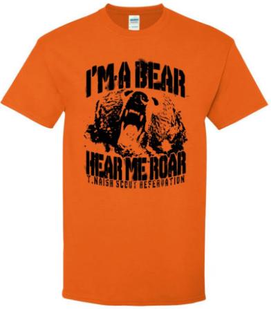 Bear t shirt design 2