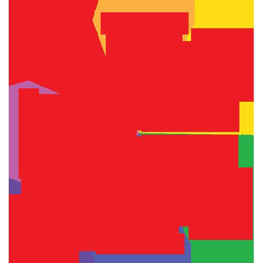 Pk logo red