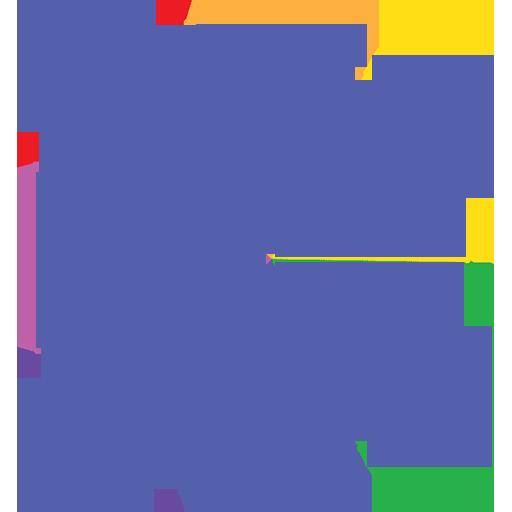 Pk logo blue