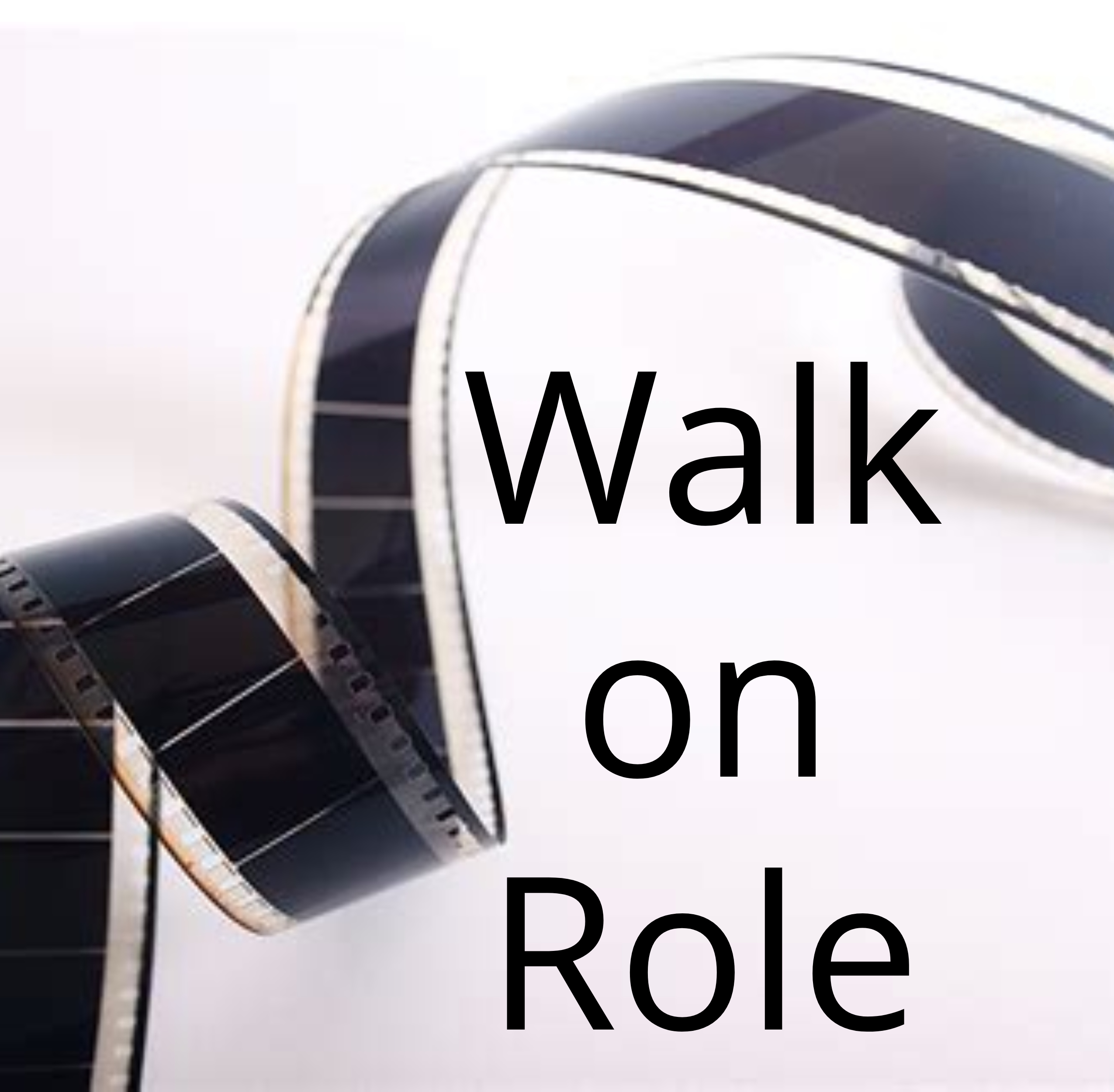 Walk on role square tape