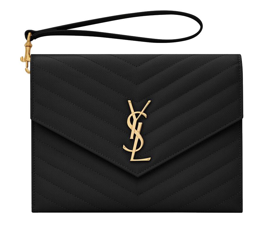 Ysl raffle purse
