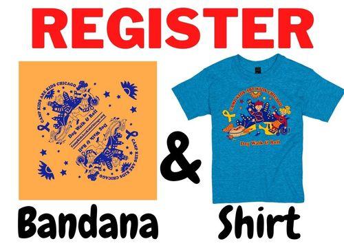 Register Bandana & Shirt