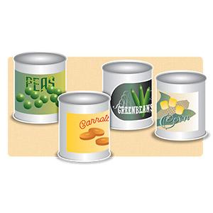 Cannedvegetables