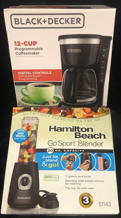 Coffee maker   blender